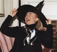 more proof hillary is a witch and black magic practitioner